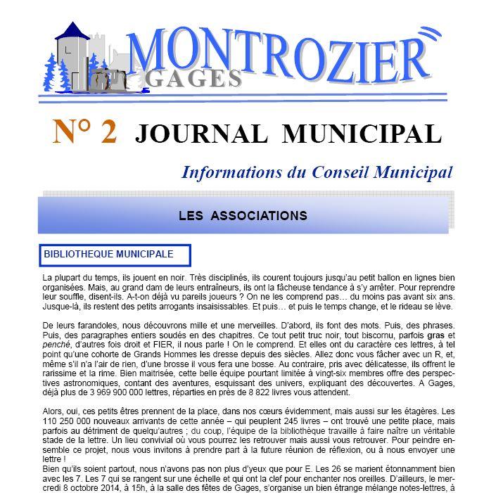 journal municipal 2 association