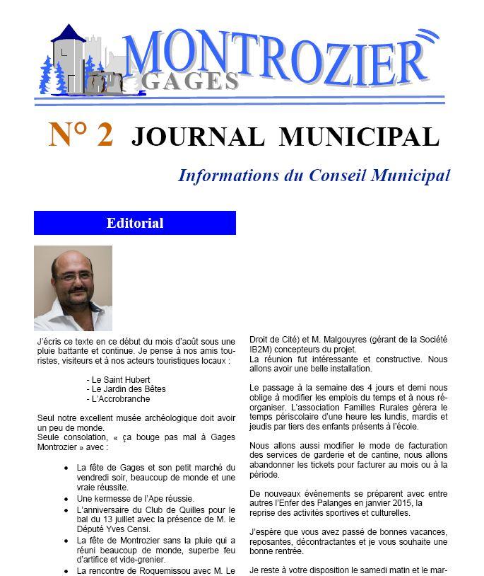 journal municipal 2