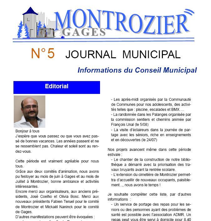 journal municipal 5