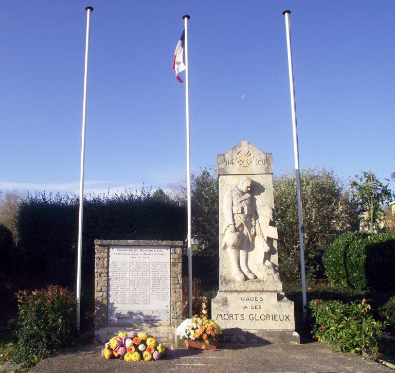 Gages monuments aux morts