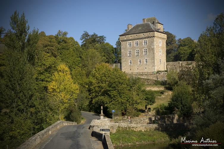 Montrozier vue sur le Château