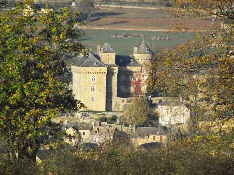 Montrozier le château