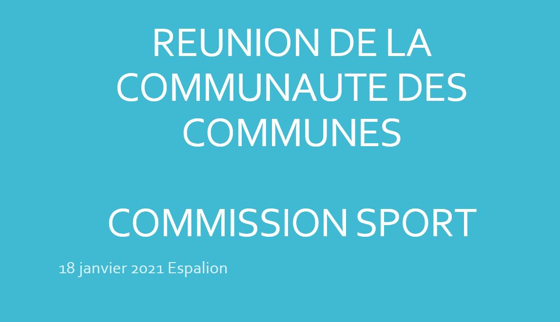 Commission sport